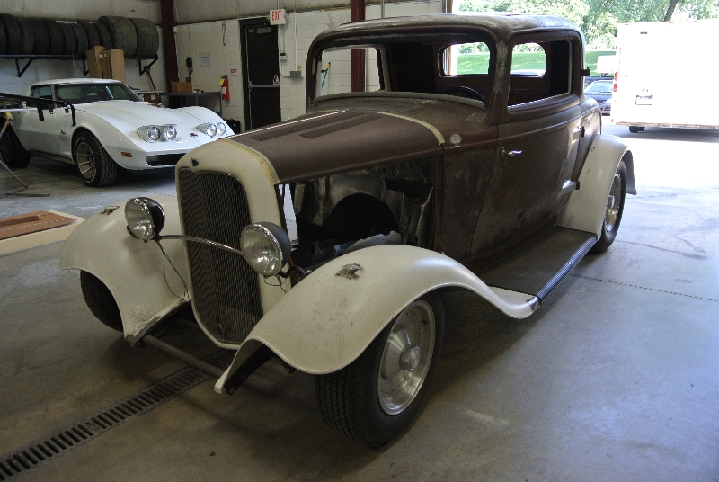 Before-1932 Ford Coupe Restoration