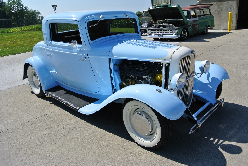 After-1932 Ford Coupe Restoration
