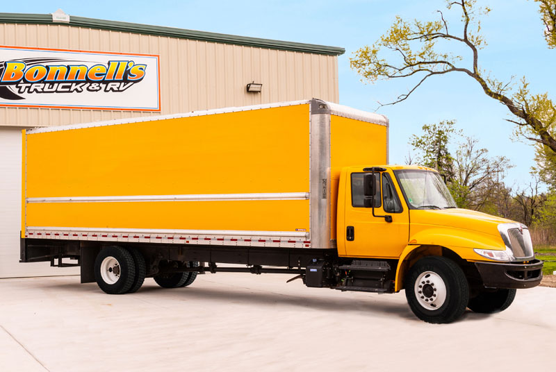 After-Moving Truck Collision Restoration
